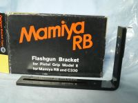 ' MAMIYA BOXED ' Mamiya RB Flashgun Bracket Boxed  -NICE- £14.99